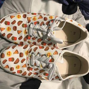 Shoes - Food emoji shoes